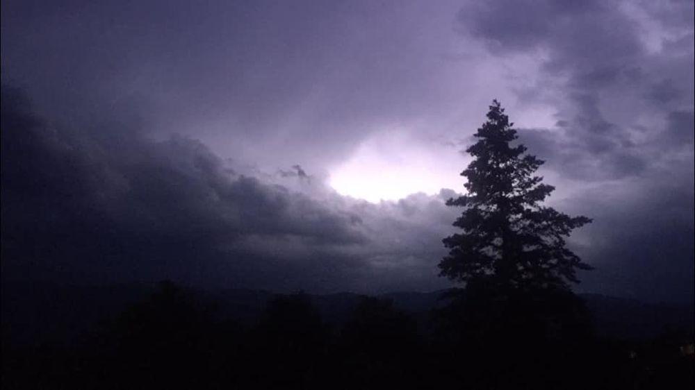 FOTO: Búrka, ktorá v utorok 28. júla zasiahla Žilinský kraj, na záberoch od čitateľov, foto 7