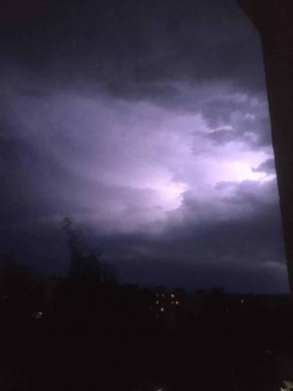 FOTO: Búrka, ktorá v utorok 28. júla zasiahla Žilinský kraj, na záberoch od čitateľov, foto 2