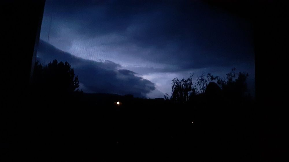 FOTO: Búrka, ktorá v utorok 28. júla zasiahla Žilinský kraj, na záberoch od čitateľov, foto 14