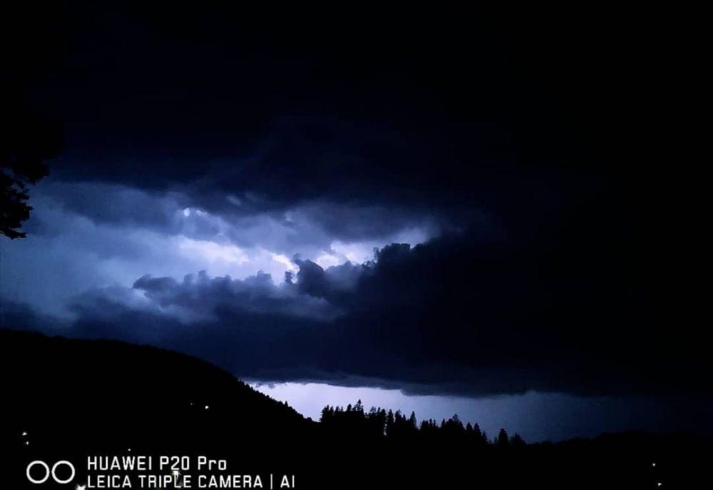 FOTO: Búrka, ktorá v utorok 28. júla zasiahla Žilinský kraj, na záberoch od čitateľov, foto 15