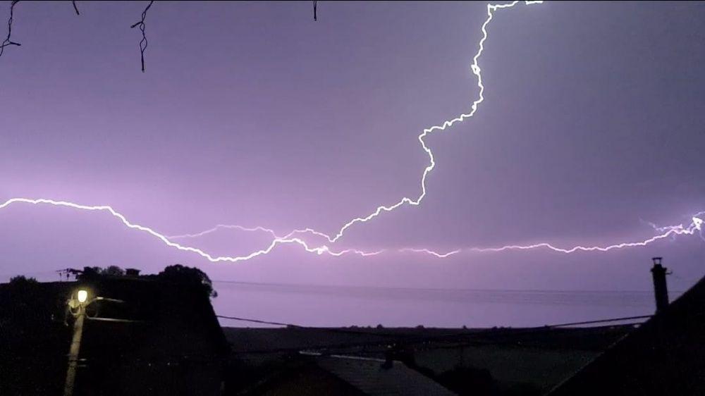 FOTO: Búrka, ktorá v utorok 28. júla zasiahla Žilinský kraj, na záberoch od čitateľov, foto 16
