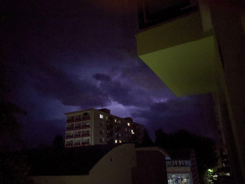 FOTO: Búrka, ktorá v utorok 28. júla zasiahla Žilinský kraj, na záberoch od čitateľov, foto 19