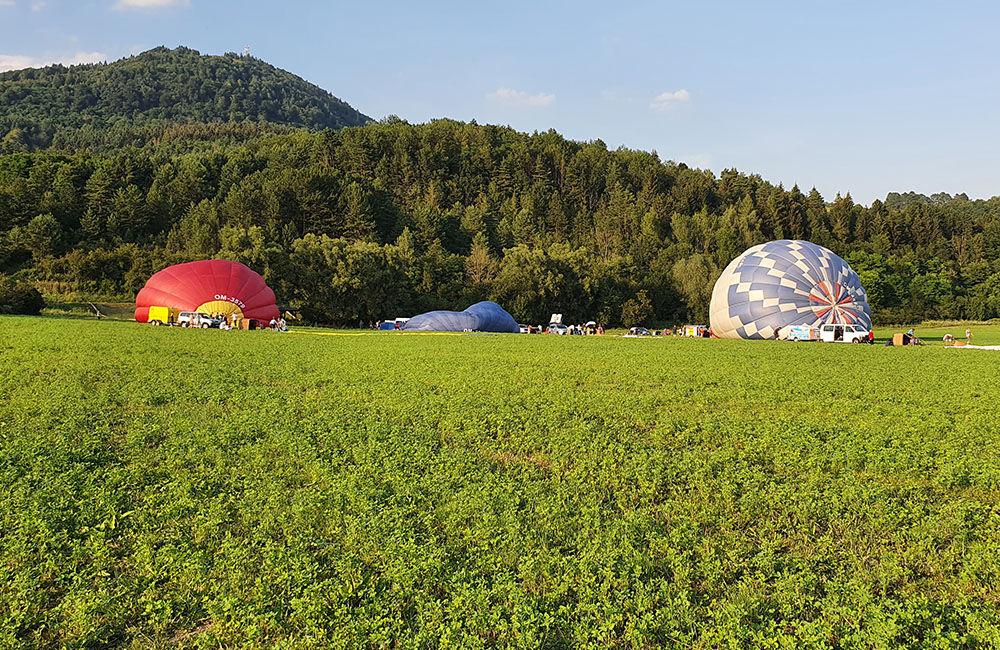 FOTO: Rajecká balónová fiesta 2020 štartovala aj pri Tepličke nad Váhom, foto 8
