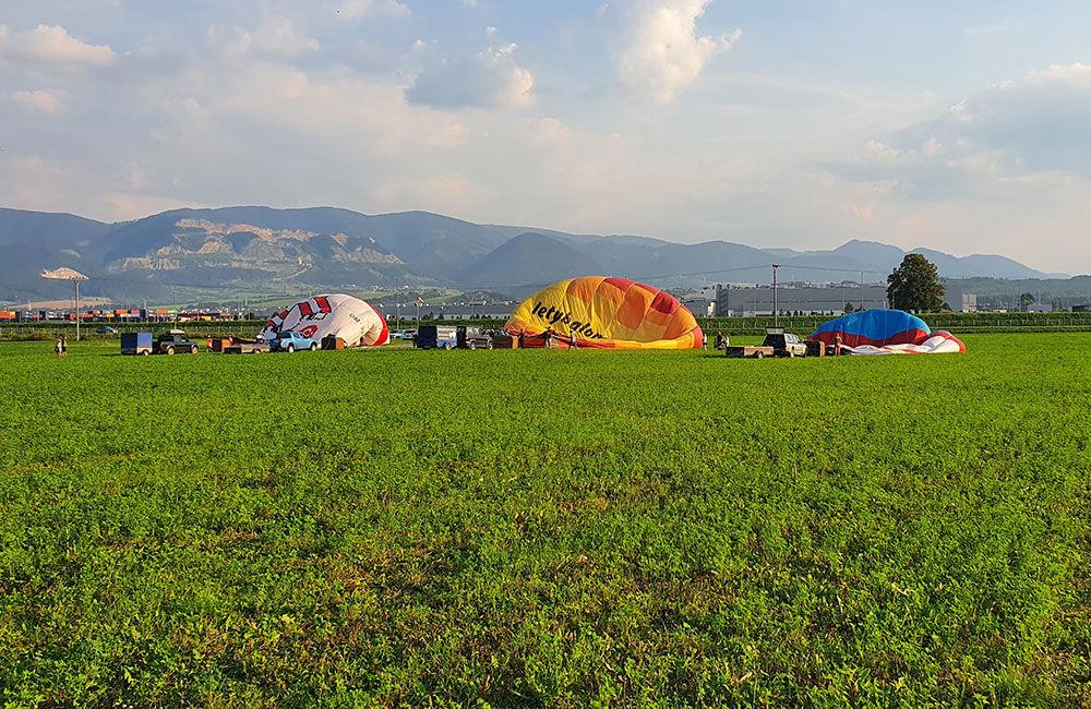 FOTO: Rajecká balónová fiesta 2020 štartovala aj pri Tepličke nad Váhom, foto 9