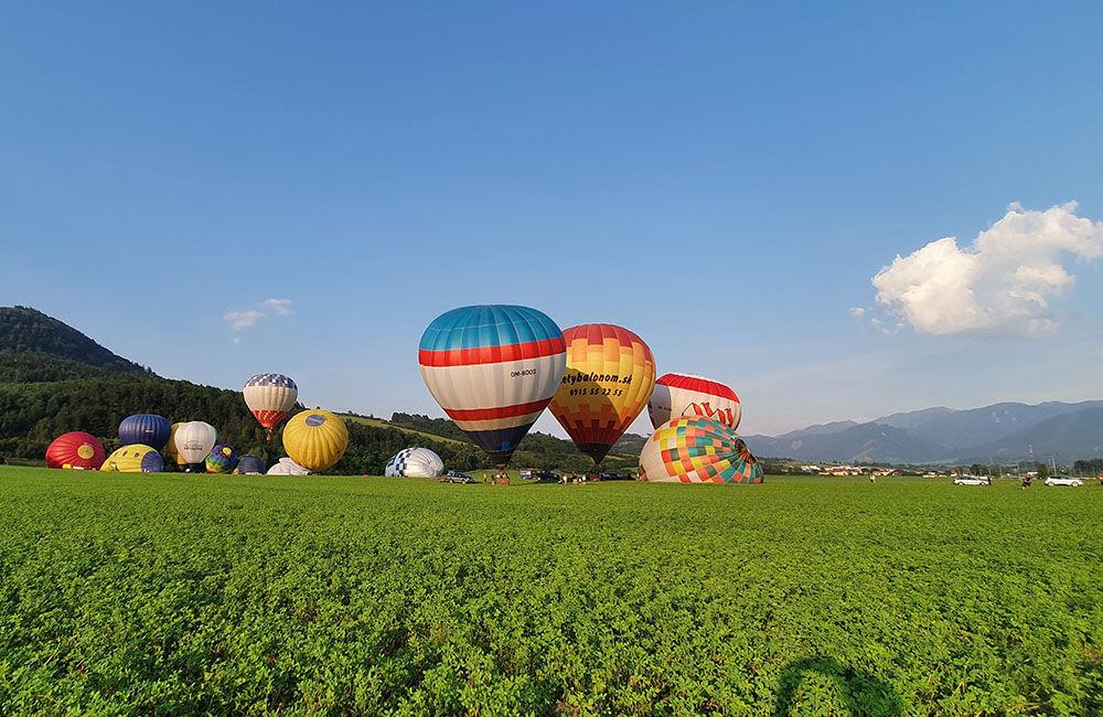 FOTO: Rajecká balónová fiesta 2020 štartovala aj pri Tepličke nad Váhom, foto 11