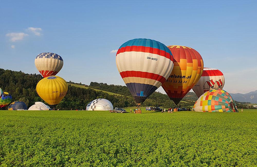 FOTO: Rajecká balónová fiesta 2020 štartovala aj pri Tepličke nad Váhom, foto 12