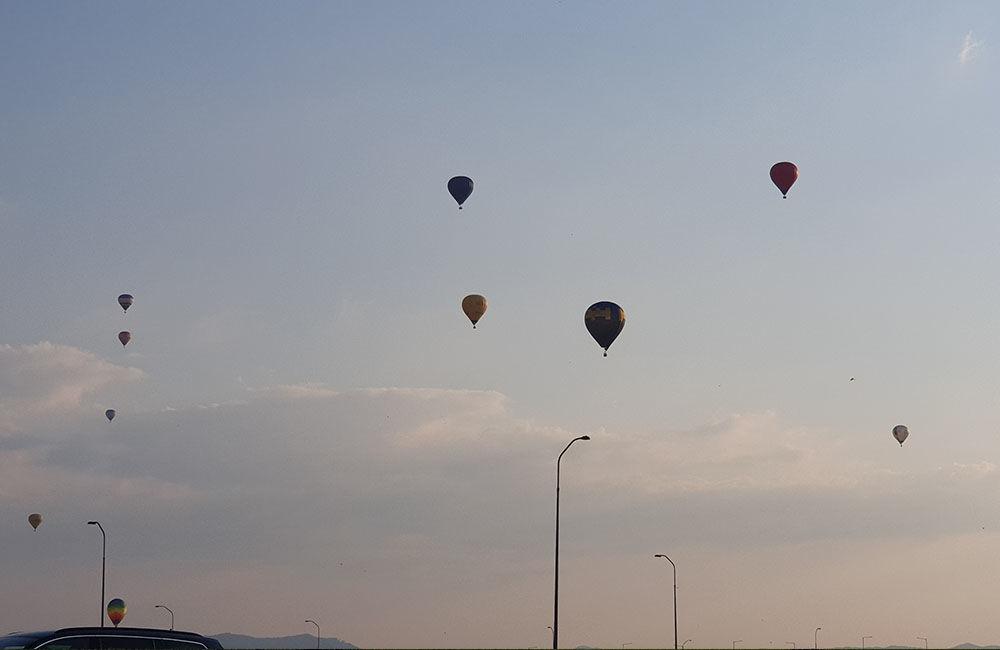 FOTO: Rajecká balónová fiesta 2020 štartovala aj pri Tepličke nad Váhom, foto 15