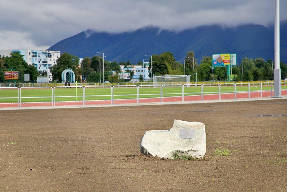 FOTO: Nový atletický štadión v Martine, foto 1