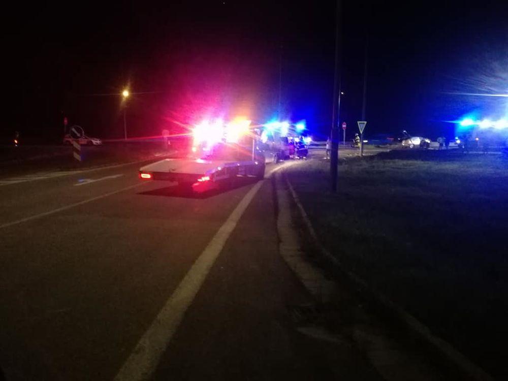 FOTO: Vážna dopravná nehoda pri Tepličke nad Váhom 11.9.2020, foto 1