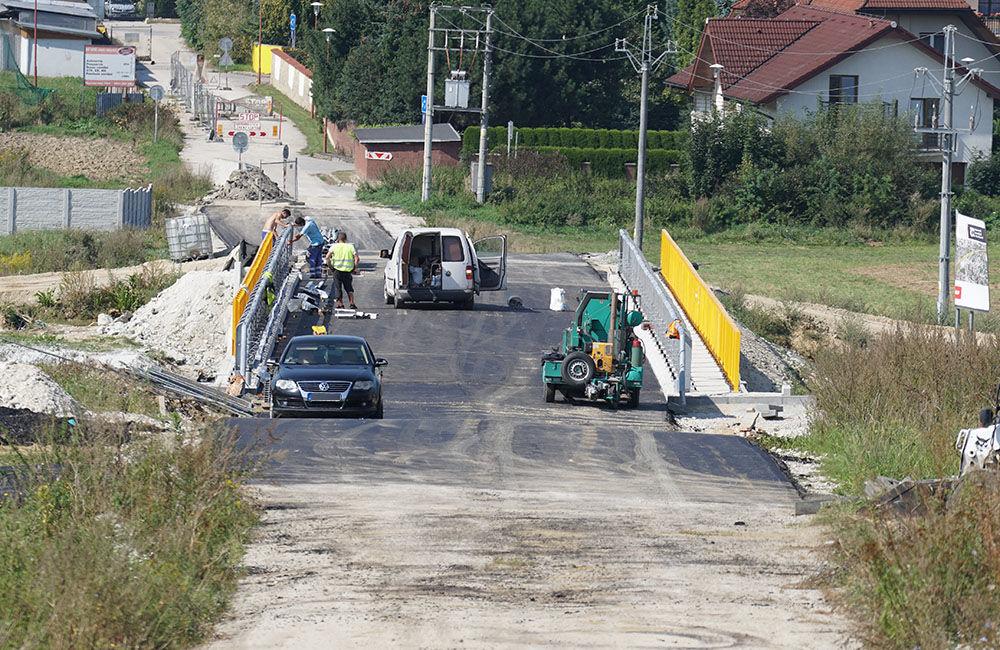 FOTO: Aktuálny stav prác na stavbe diaľničného privádzača 14.09.2020, foto 15