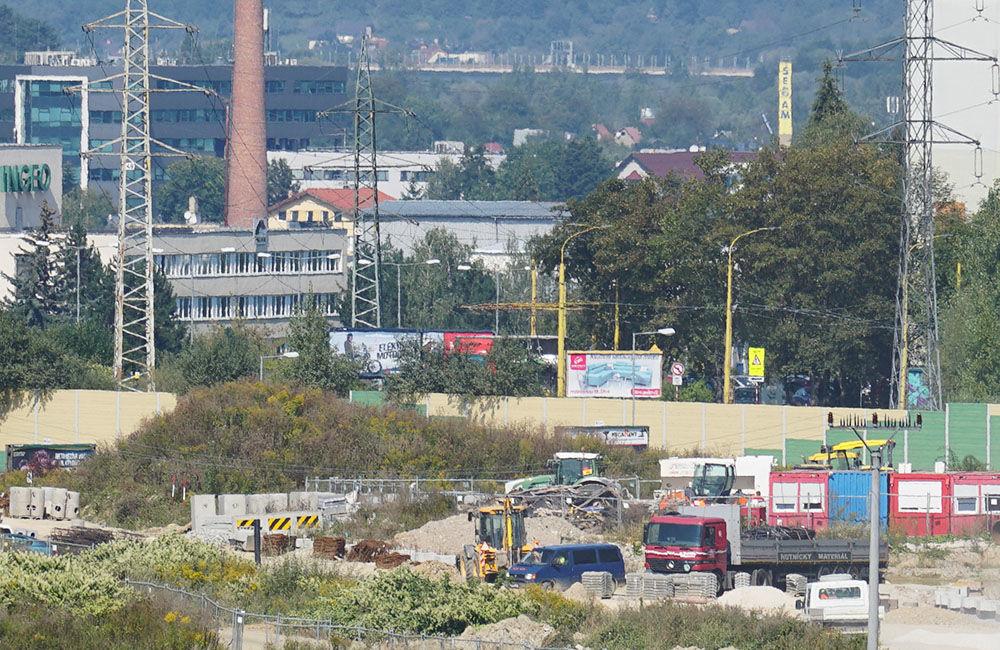 FOTO: Aktuálny stav prác na stavbe diaľničného privádzača 14.09.2020, foto 17