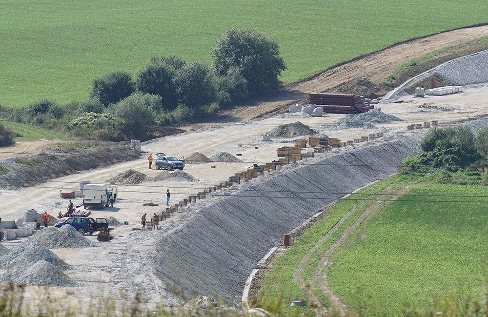 FOTO: Aktuálny stav prác na stavbe diaľničného privádzača 14.09.2020, foto 19