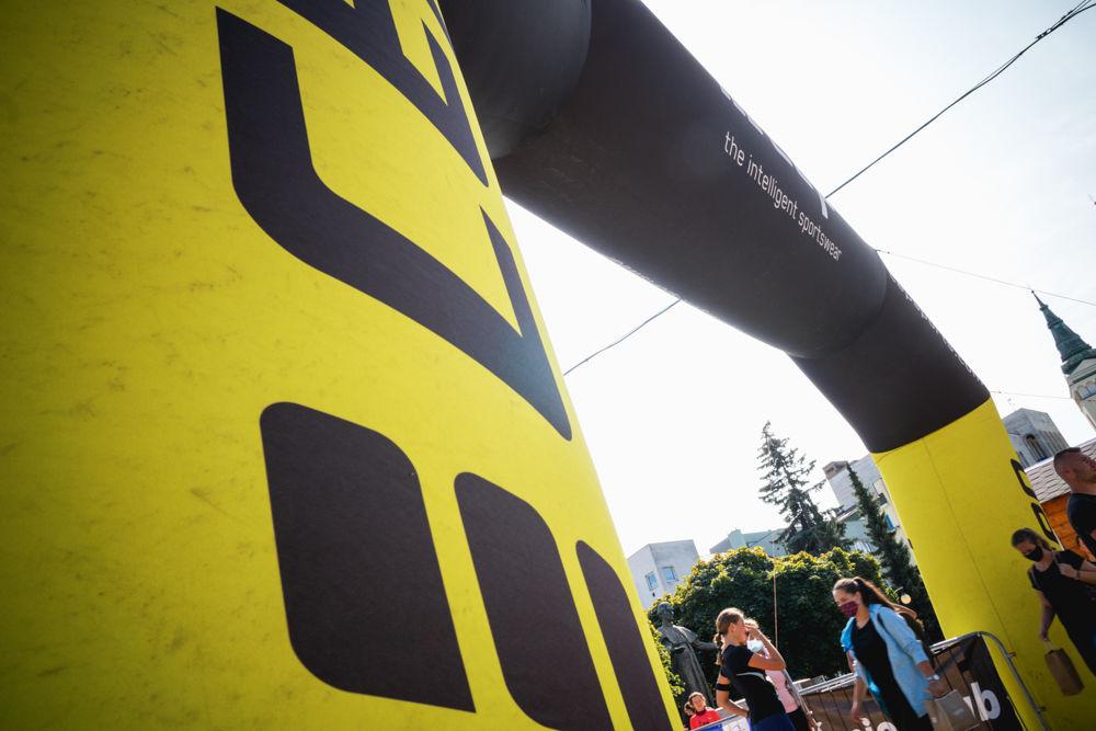 FOTO: Na Hlinkovom námestí odštartoval Žilinský mestský polmaratón 2020, foto 10