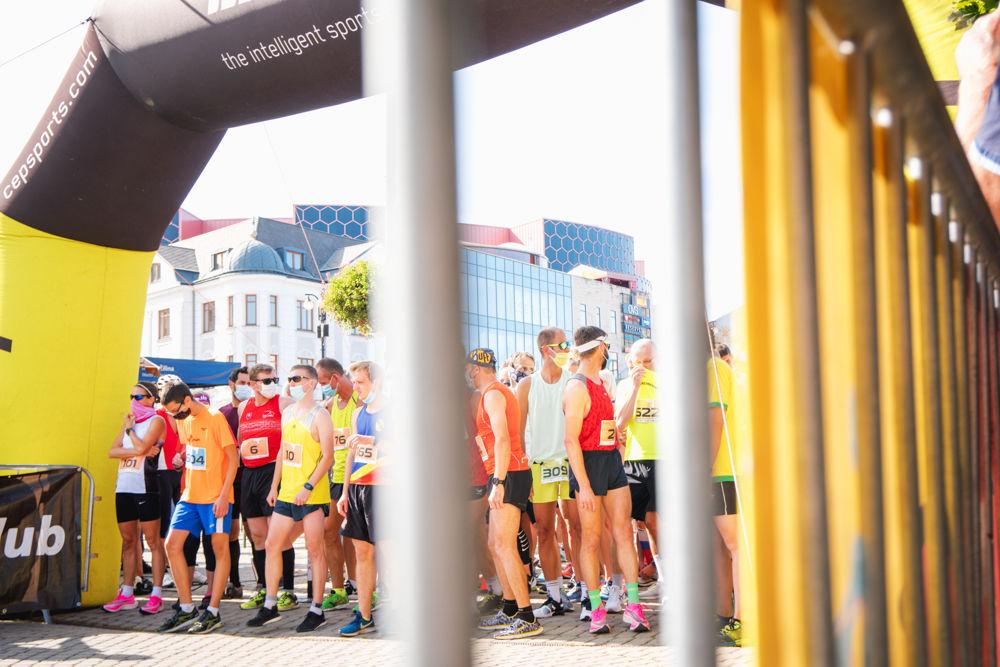 FOTO: Na Hlinkovom námestí odštartoval Žilinský mestský polmaratón 2020, foto 13