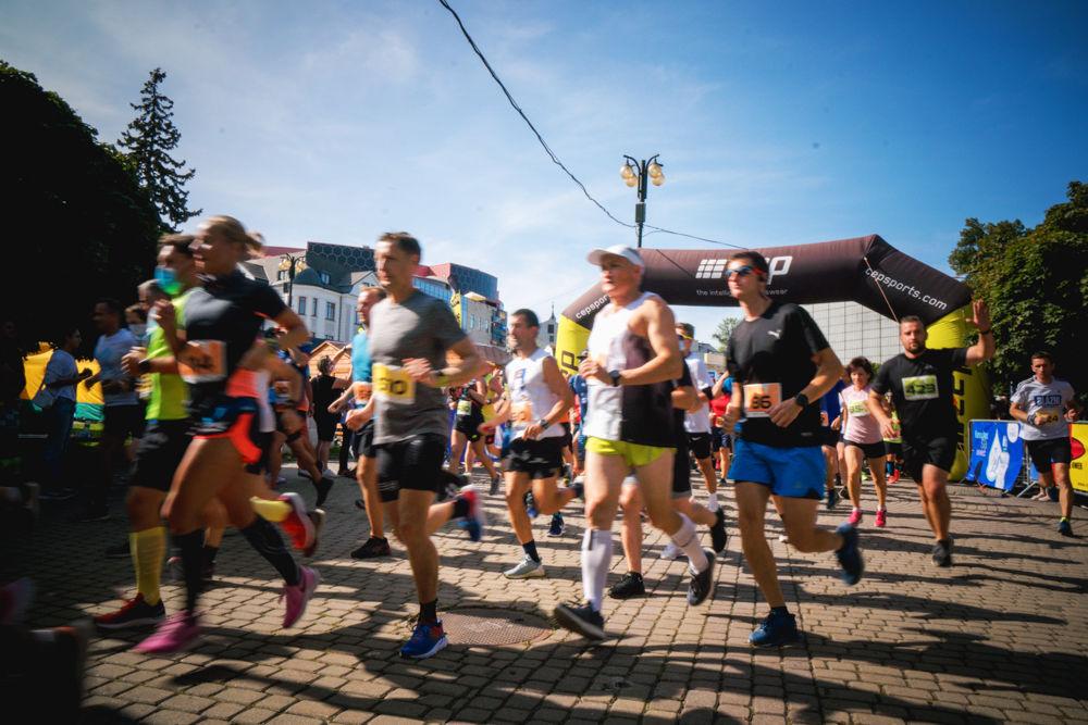 FOTO: Na Hlinkovom námestí odštartoval Žilinský mestský polmaratón 2020, foto 20