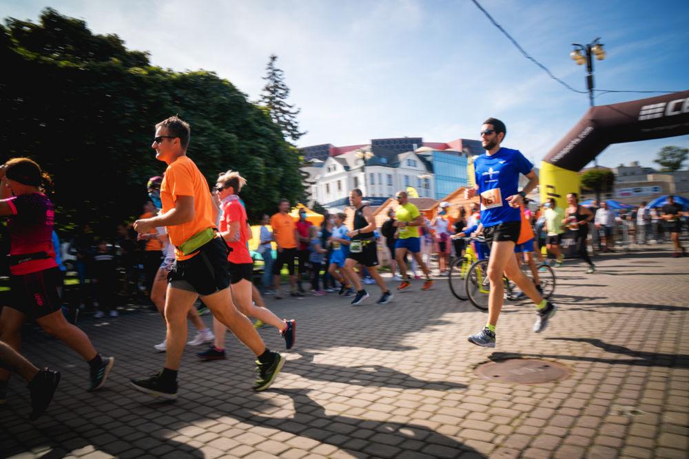 FOTO: Na Hlinkovom námestí odštartoval Žilinský mestský polmaratón 2020, foto 23