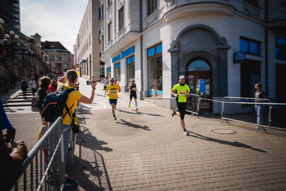 FOTO: Na Hlinkovom námestí odštartoval Žilinský mestský polmaratón 2020, foto 28