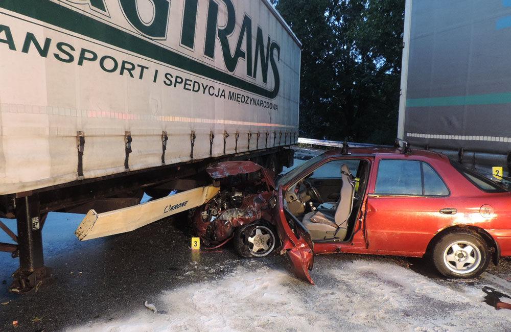 FOTO: Dopravná nehoda Kysucké Nové Mesto 29.9.2020, foto 1