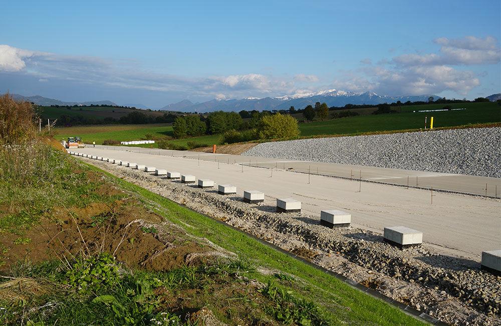 FOTO: Aktuálny stav prác na stavbe diaľničného privádzača 22.10.2020, foto 4