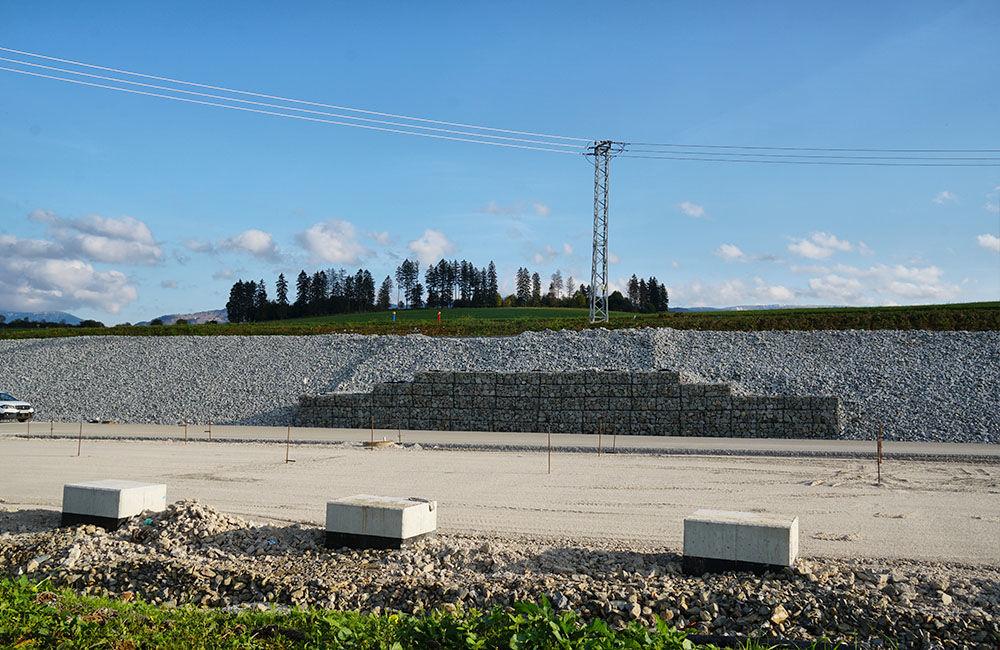 FOTO: Aktuálny stav prác na stavbe diaľničného privádzača 22.10.2020, foto 5