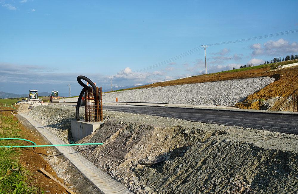 FOTO: Aktuálny stav prác na stavbe diaľničného privádzača 22.10.2020, foto 7
