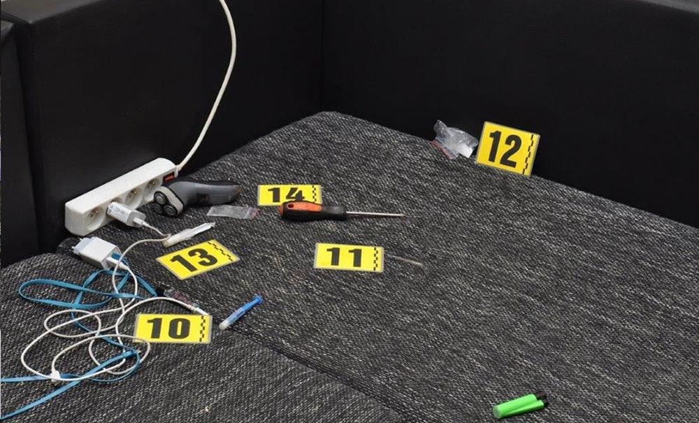 FOTO: Úspešná akcia polície zameraná na odhaľovanie drogovej trestnej činnosti v novembri 2020, foto 4
