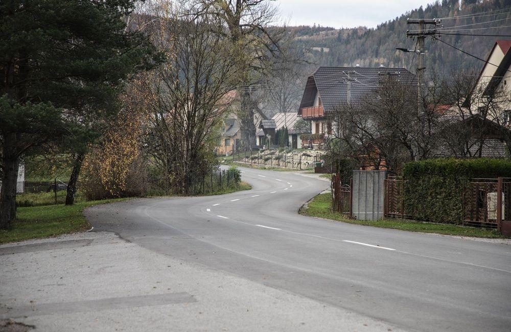 FOTO: Medzi obcami Klubina a Stará Bystrica zrekonštruovali viac než 4 kilometre cesty, foto 2