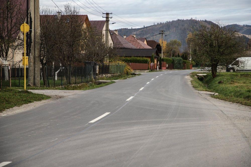 FOTO: Medzi obcami Klubina a Stará Bystrica zrekonštruovali viac než 4 kilometre cesty, foto 4