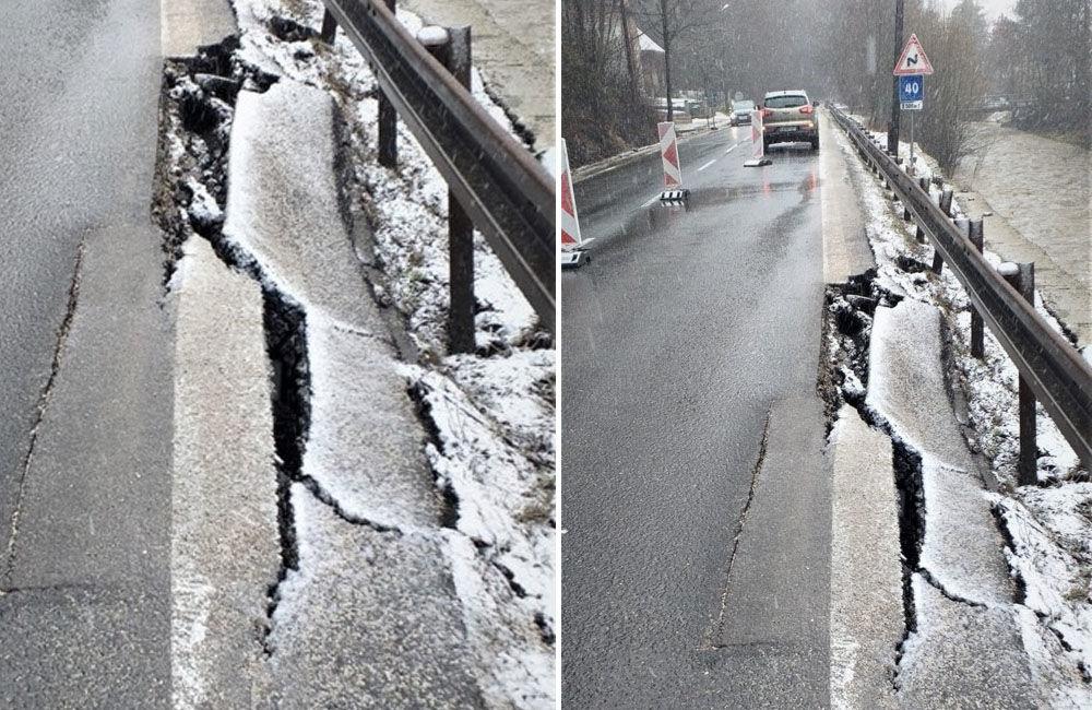 FOTO: V meste Turzovka dokončili opravu cesty, ktorú začiatkom roka poškodili intenzívne dažde, foto 6