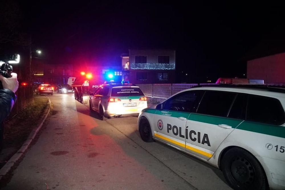 FOTO: Policajný zásah v Strečne 14. december 2020, foto 2