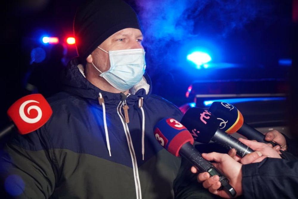 FOTO: Policajný zásah v Strečne 14. december 2020, foto 4