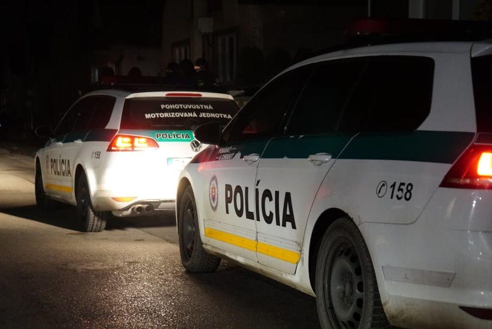 FOTO: Policajný zásah v Strečne 14. december 2020, foto 6