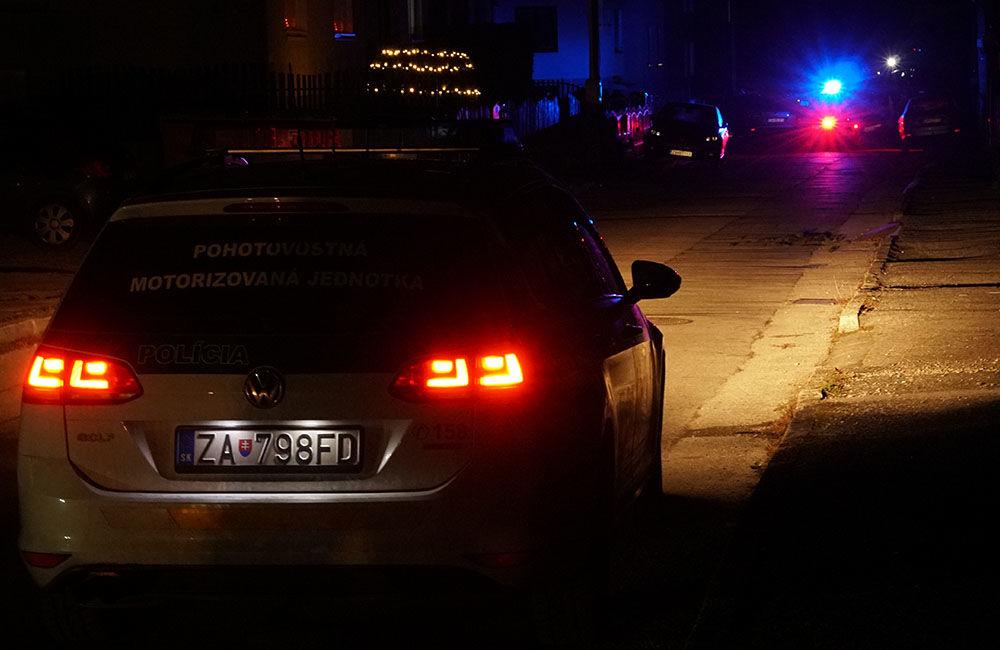 FOTO: Policajný zásah v Strečne 14. december 2020, foto 10