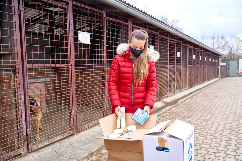 FOTO: Darovanie vreciek na exkrementy útulku Žilina, foto 8