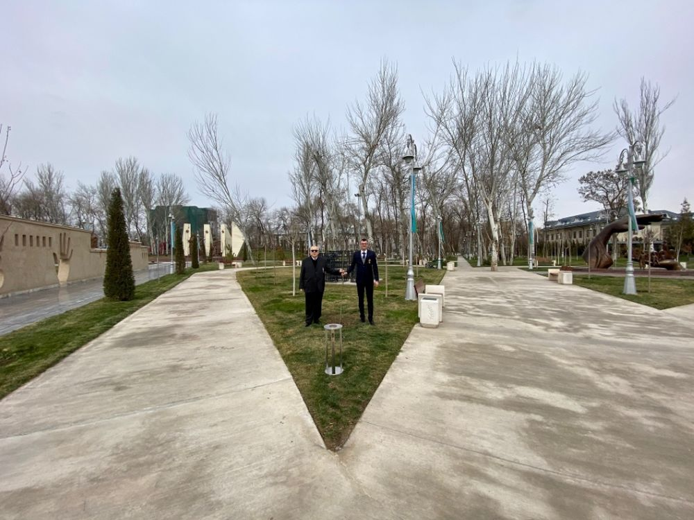 FOTO: Vysadenie Stromu pokoja v Uzbekistane, foto 11