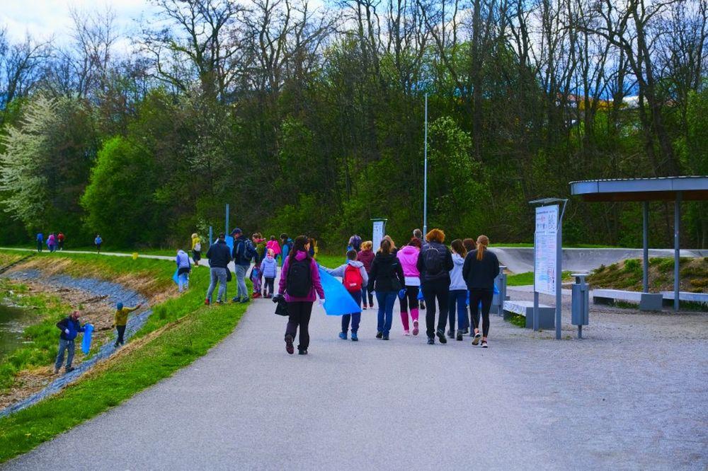 FOTO: Veľké čistenie Vodného diela Žilina 2021, foto 3