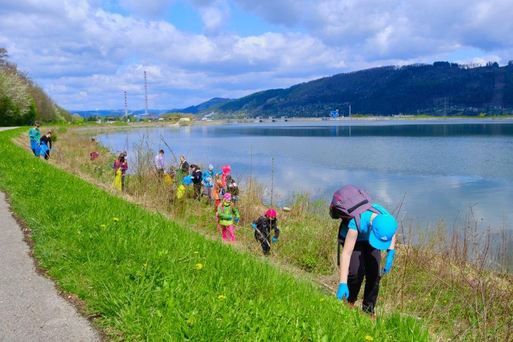 FOTO: Veľké čistenie Vodného diela Žilina 2021, foto 7