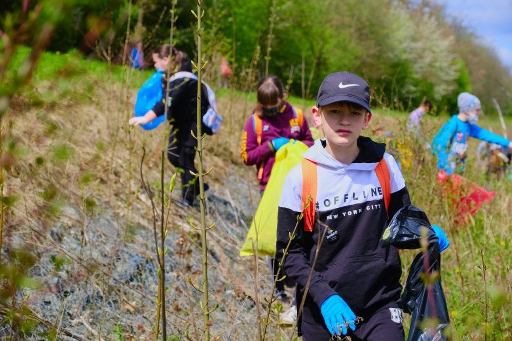 FOTO: Veľké čistenie Vodného diela Žilina 2021, foto 9