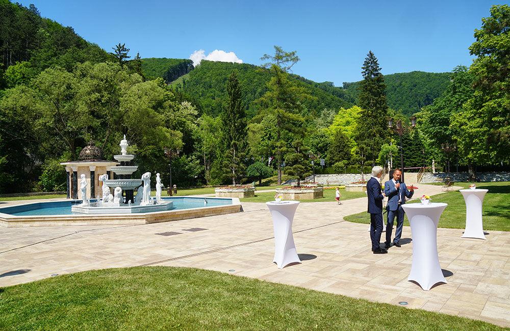 FOTO: Otvorenie letnej kúpeľnej sezóny a nového parku v Rajeckých Tepliciach, foto 4