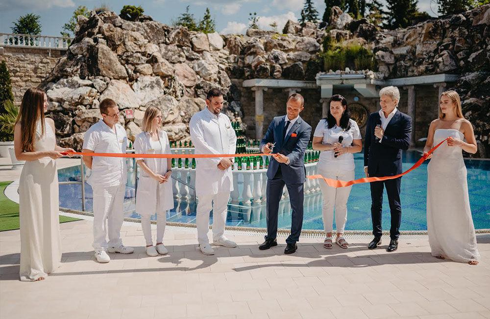 FOTO: Otvorenie letnej kúpeľnej sezóny a nového parku v Rajeckých Tepliciach, foto 18