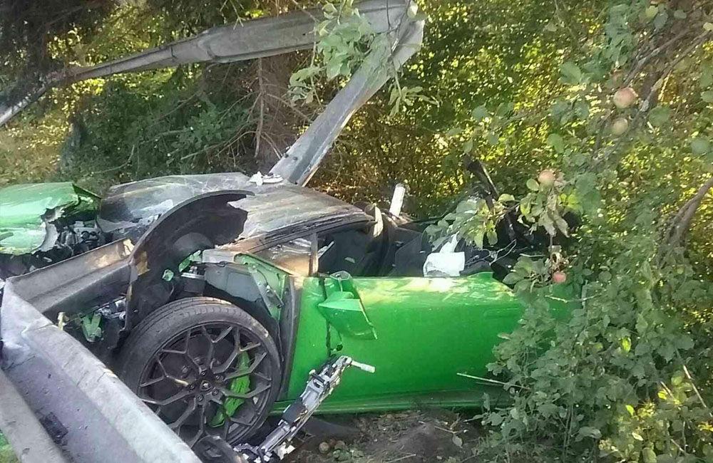 FOTO: Dopravná nehoda pri meste Dolný Kubín 10. septembra 2021, foto 3