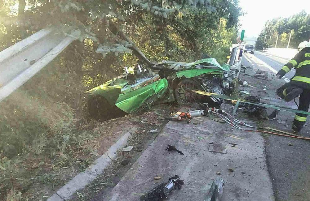 FOTO: Dopravná nehoda pri meste Dolný Kubín 10. septembra 2021, foto 4