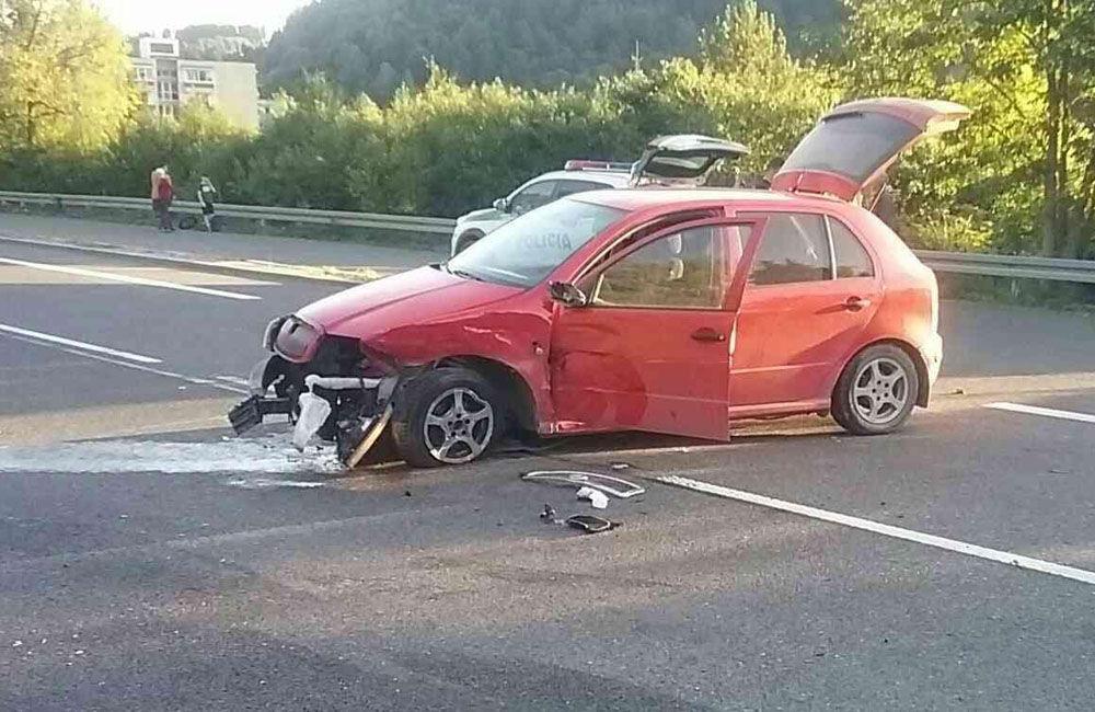 FOTO: Dopravná nehoda pri meste Dolný Kubín 10. septembra 2021, foto 5