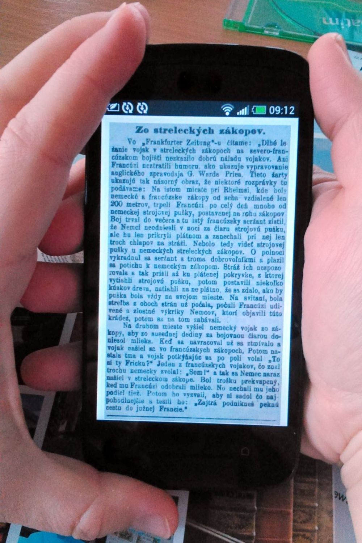 Digitalizácia SNK v Martine, foto 2