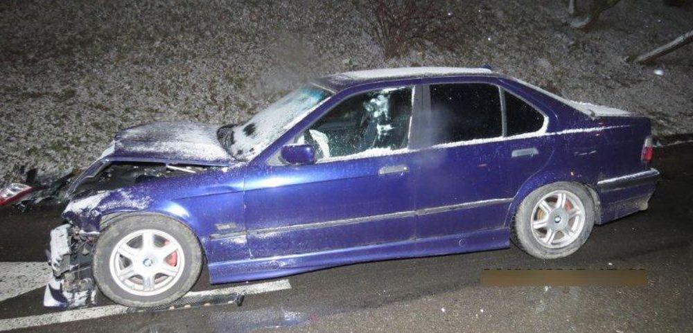 Dopravná nehoda 24.1.2015 - Obchodná Vlčince, foto 1
