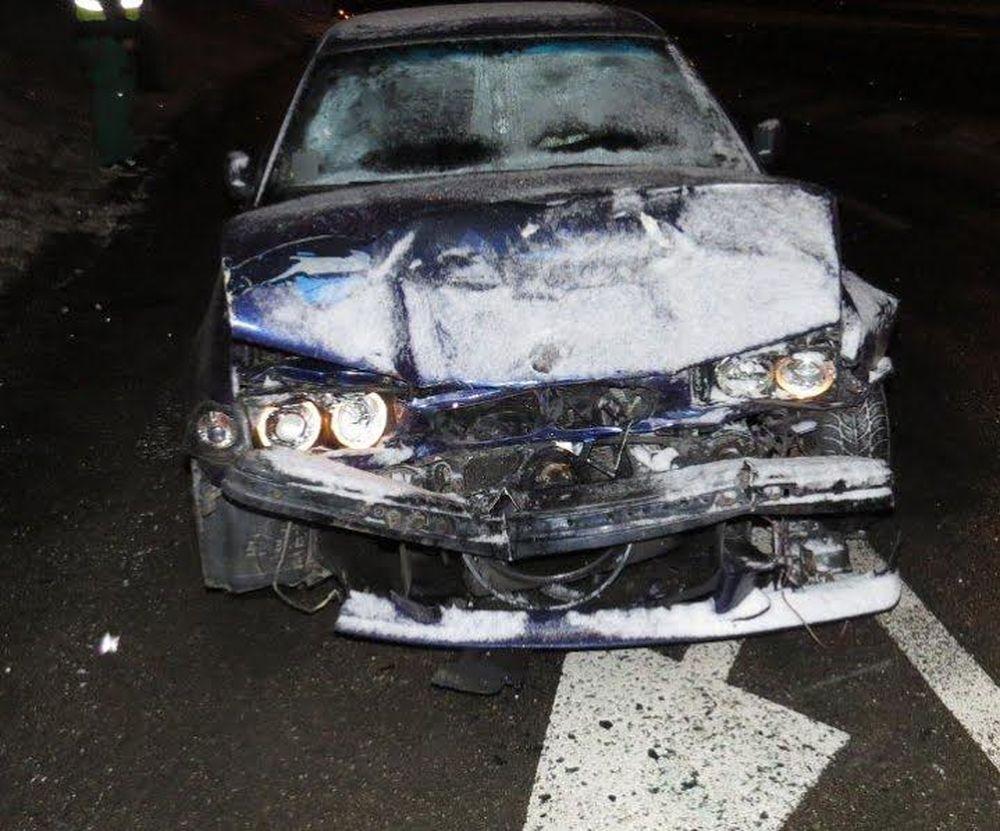 Dopravná nehoda 24.1.2015 - Obchodná Vlčince, foto 2