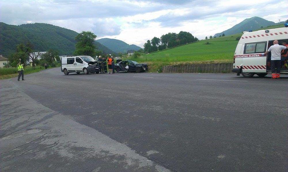 Dopravná nehoda Belá Žilina - 26.5.2014, foto 1