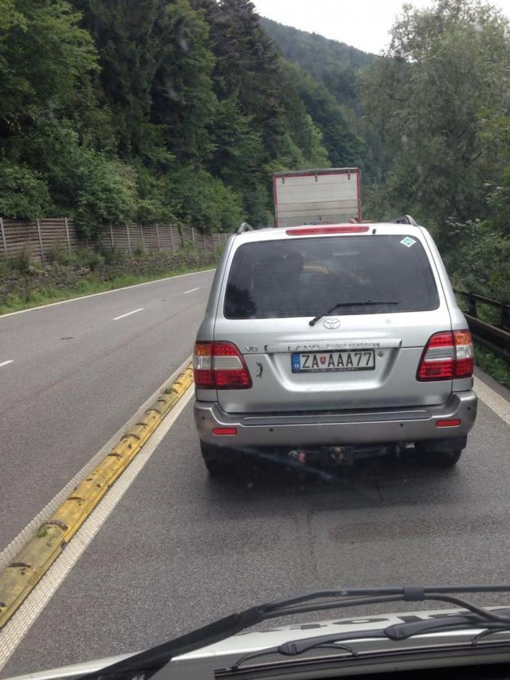 Dopravná nehoda na Šibeniciach 12.8.2014, foto 1