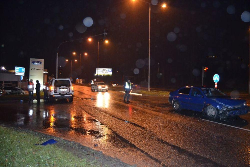 Dopravná nehoda pri Celulózke 17.1.2014, foto 2