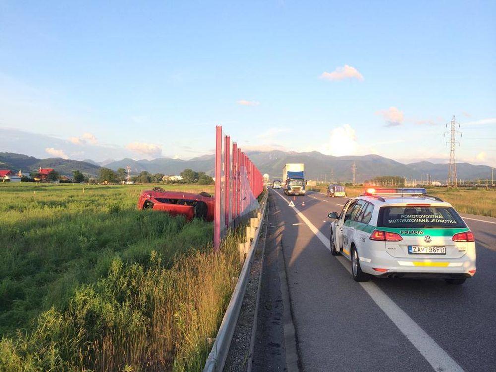 Dopravná nehoda pri Tepličke nad Váhom 27.5.2014, foto 3